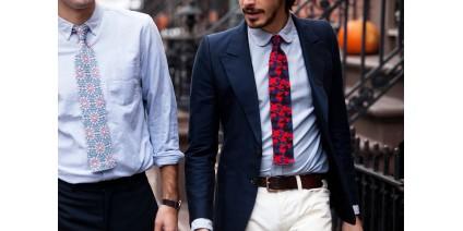 Cravata - marele simbol al masculinității